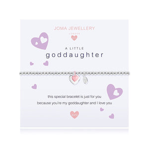 Joma Girls a little Goddaughter Bracelet - Narborough Hall