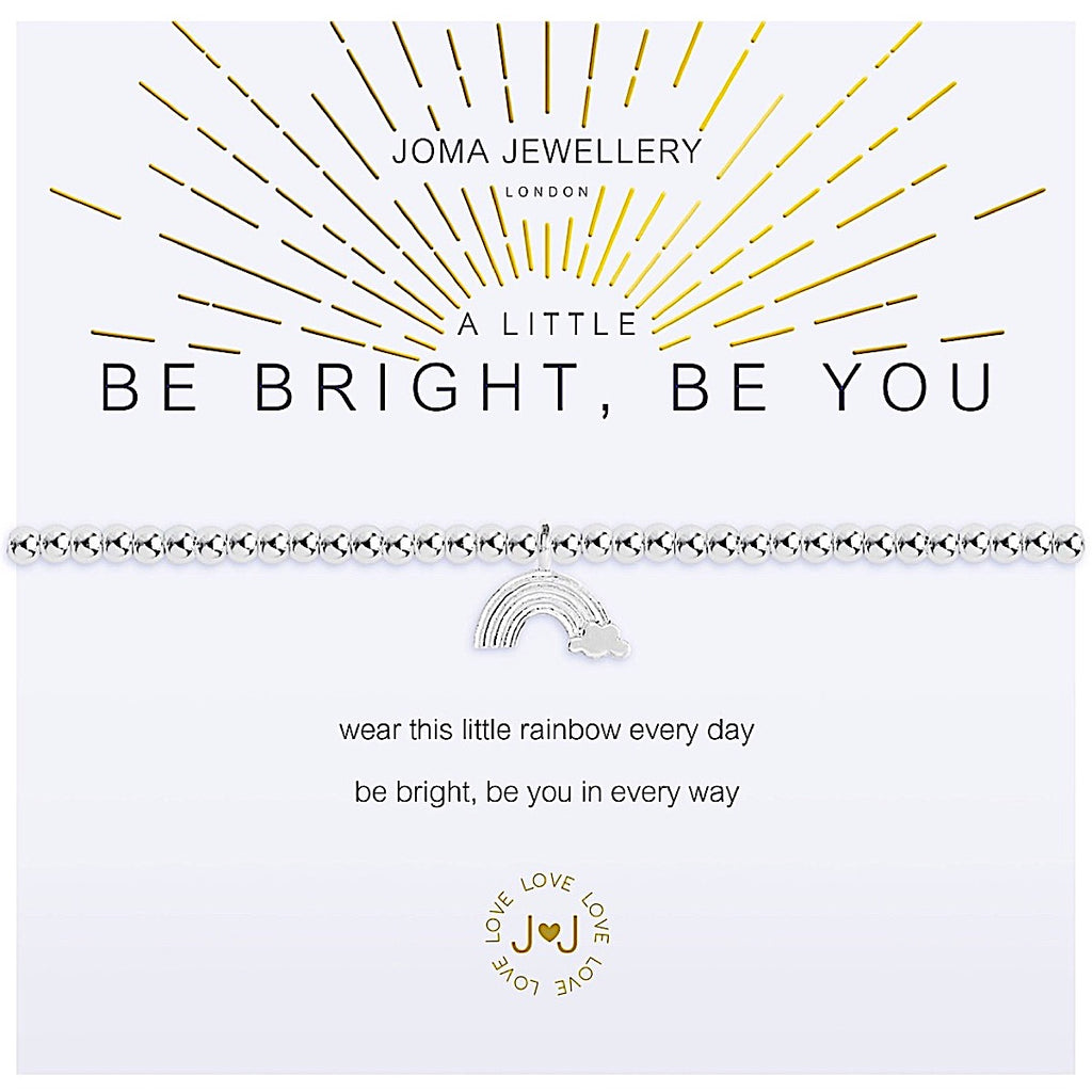 Joma a little Be Bright Be You Bracelet - rainbow