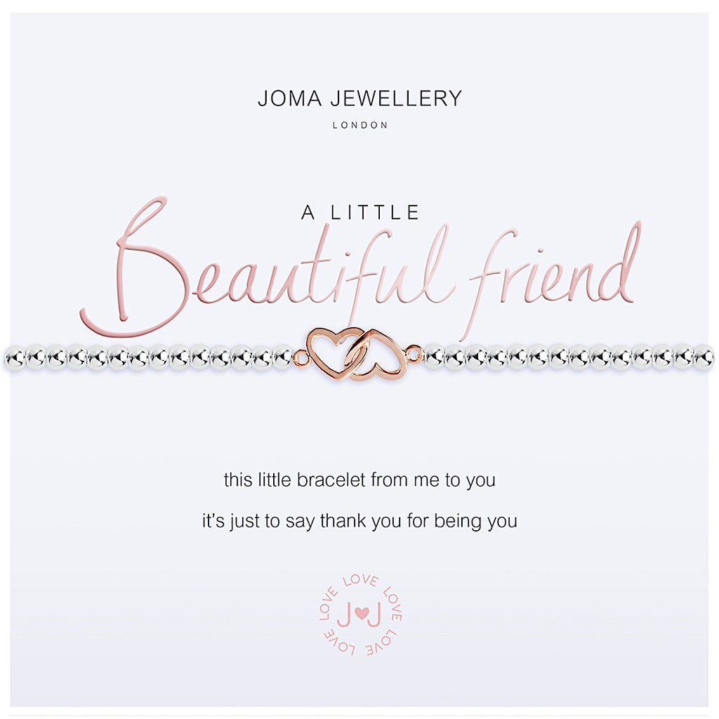 Joma a little Beautiful Friend Bracelet - hearts