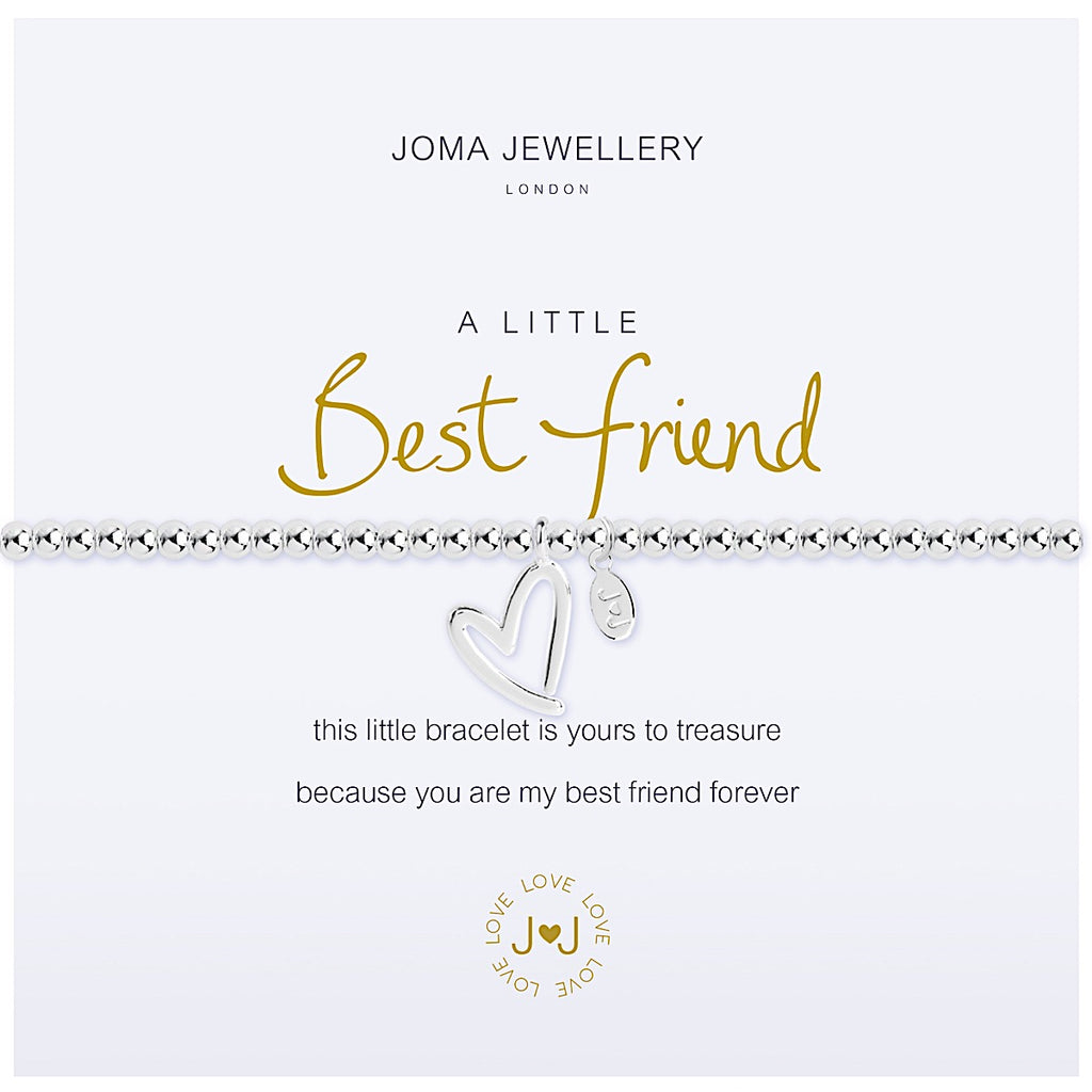Joma a little Best Friend Bracelet - heart