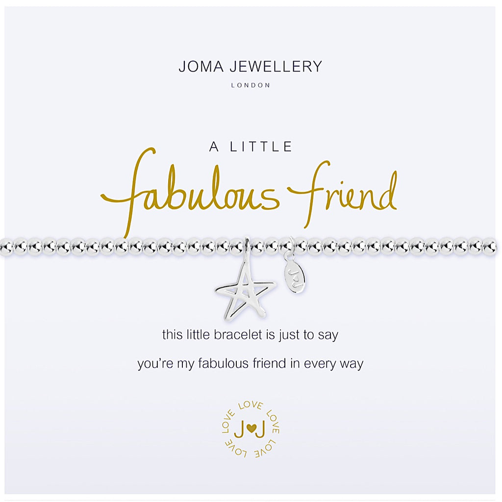 Joma a little Fabulous Friend Bracelet - star