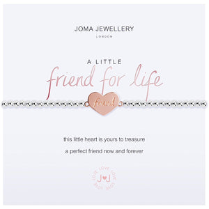 Joma a little Friend For Life Bracelet - heart