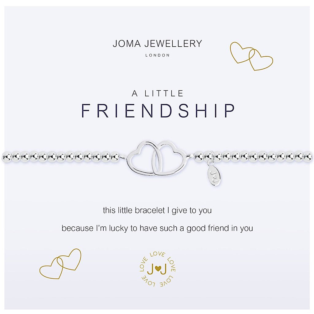 Joma a little Friendship Bracelet - hearts