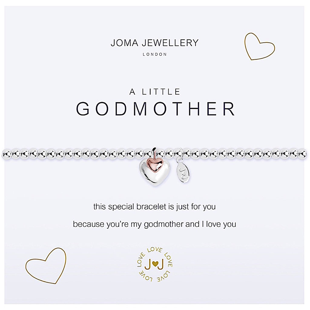 Joma a little Godmother Bracelet - hearts