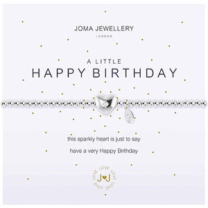Joma a little Happy Birthday Bracelet - More Than Just a Gift