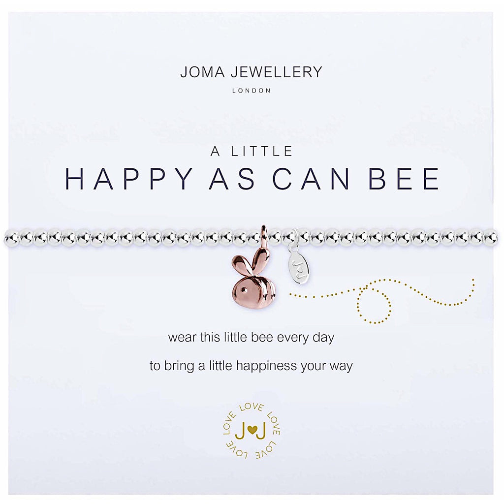 Joma a little Happy as Can Bee Bracelet