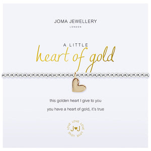 Joma a little Heart of Gold Bracelet - heart