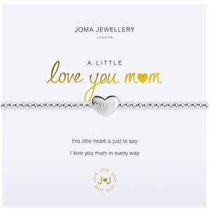 Joma a little Love You Mum Bracelet - heart