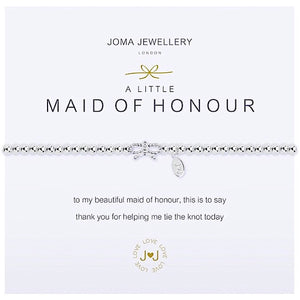Joma a little Maid of Honour Bracelet - bow