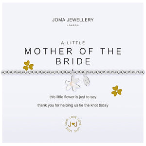 Joma a little Mother of the Bride Bracelet - flower