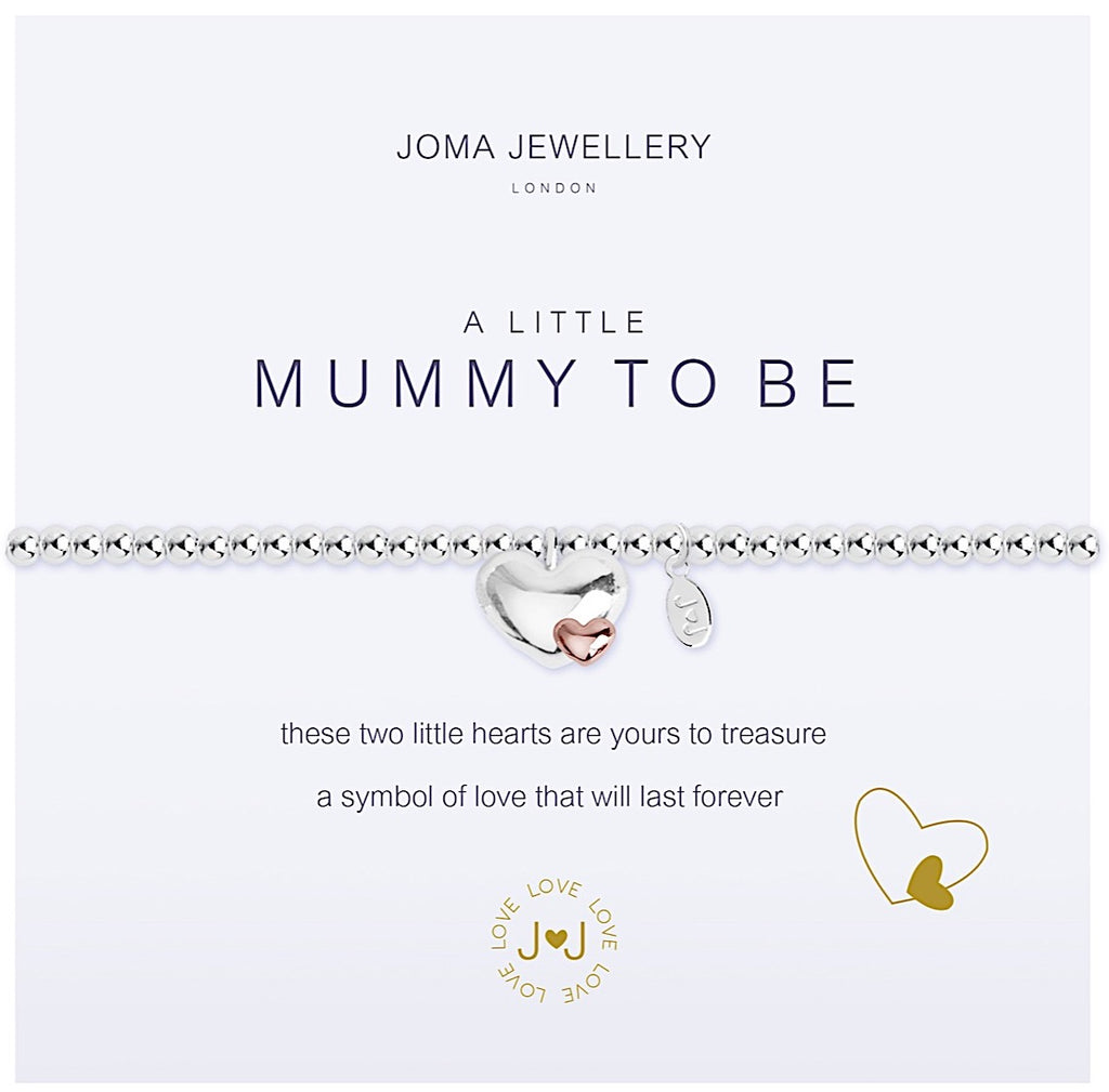 Joma a little Mummy to be Bracelet - hearts