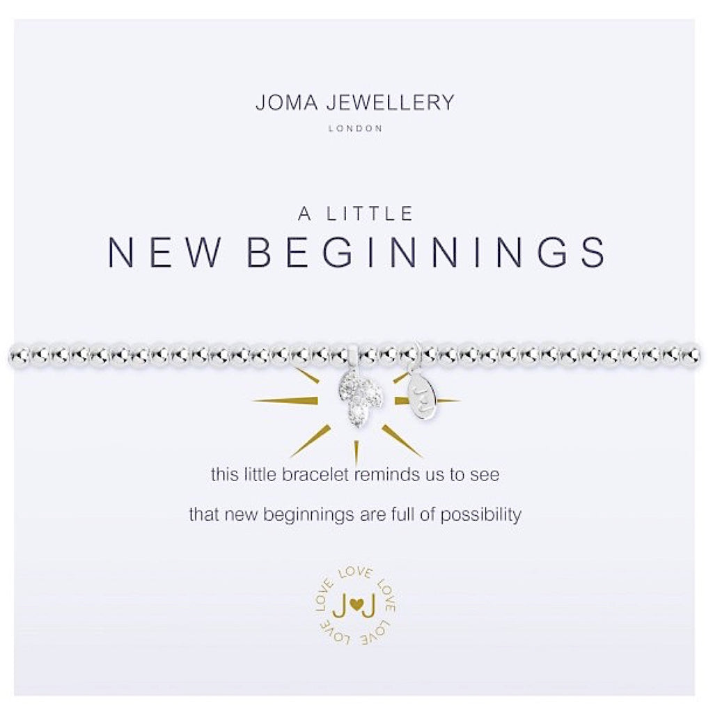 Joma a little New Beginnings Bracelet - leaf