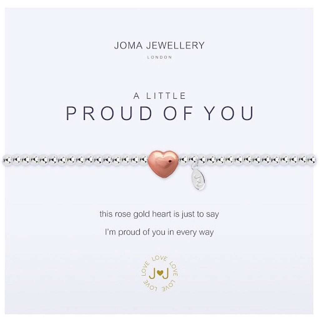 Joma a little Proud of You Bracelet - heart
