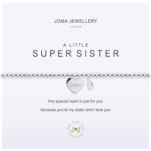 Joma a little Super Sister Bracelet - heart