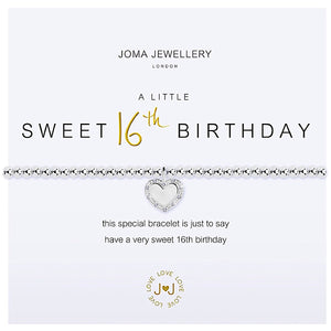 Joma a little Sweet 16th Birthday - heart