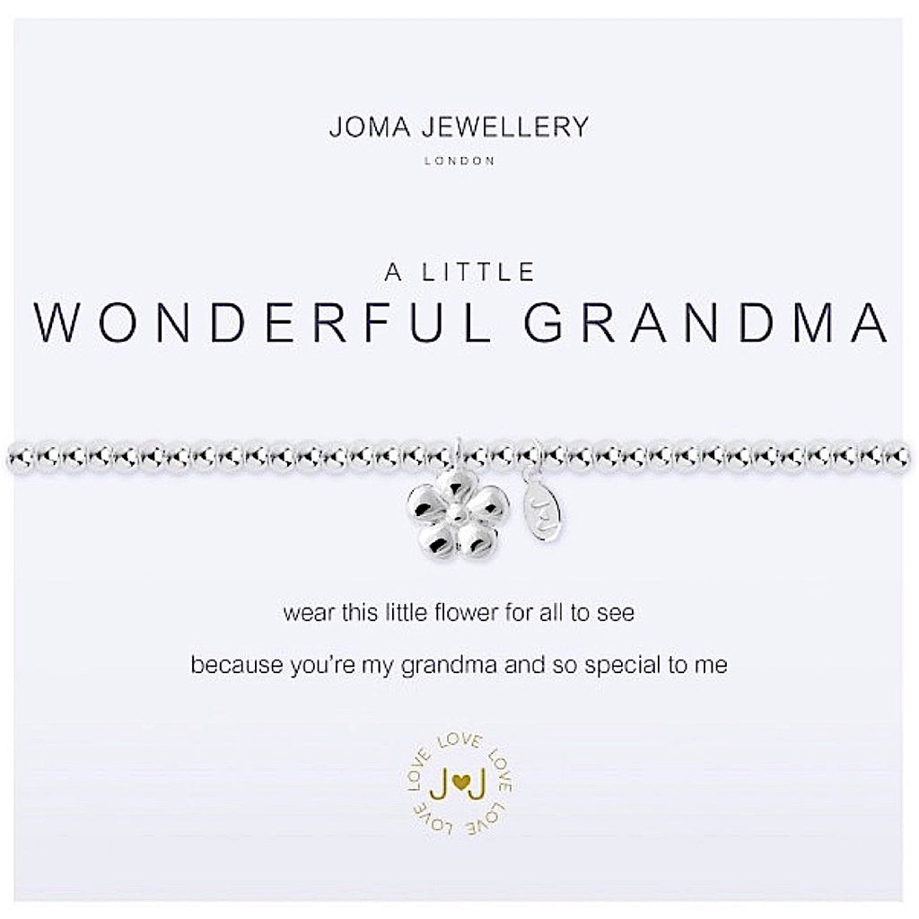 Joma a little Wonderful Grandma Bracelet - flower