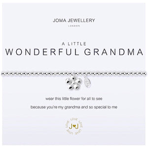 Joma a little Wonderful Grandma Bracelet - More Than Just a Gift