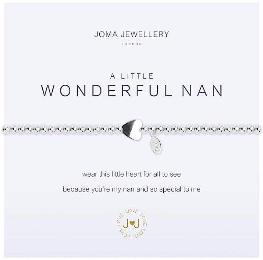Joma a little Wonderful Nan Bracelet - heart