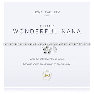 Joma a little Wonderful Nana Bracelet - More Than Just a Gift