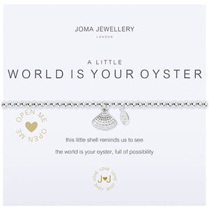Joma a little World is Your Oyster Bracelet - shell