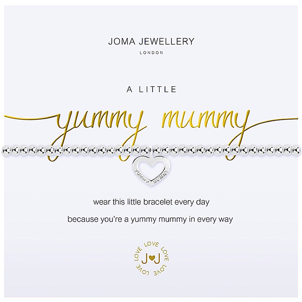 Joma a little Yummy Mummy Bracelet - heart