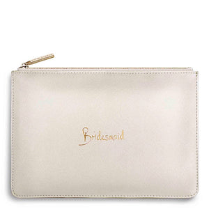Katie Loxton Bridesmaid Handwritten Pouch
