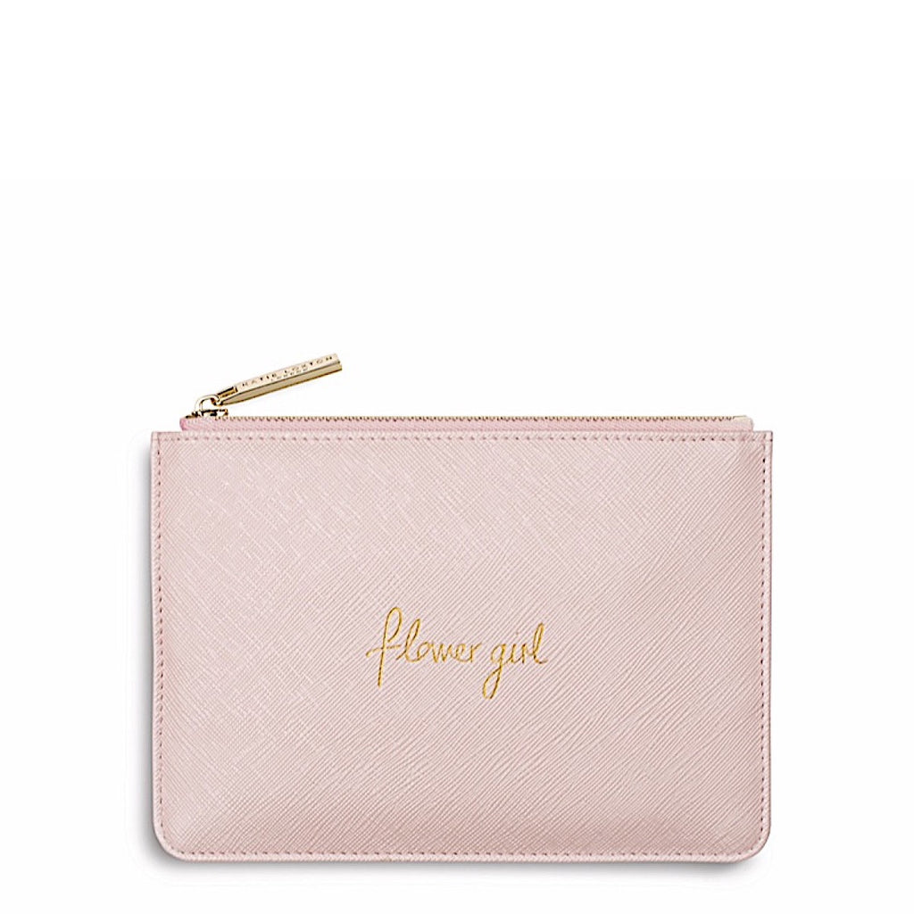 Katie Loxton Pink Flower Girl Pouch Narborough Hall