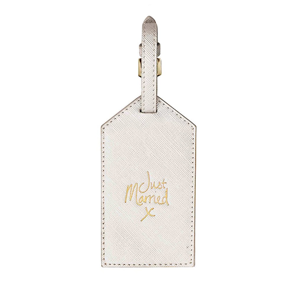 Katie Loxton Just Married Luggage Tag