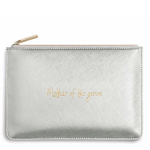Katie Loxton Mother of the Groom Handwritten Pouch