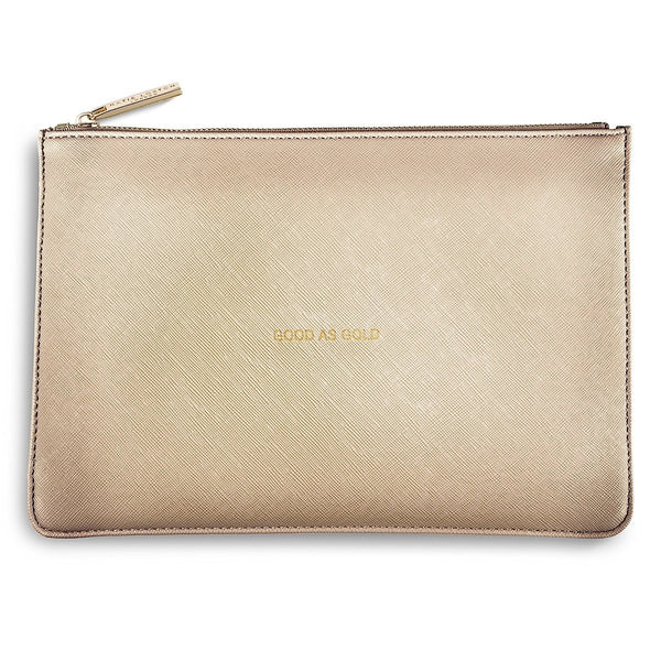 Katie Loxton POUCH 'good as gold' - gold - Narborough Hall