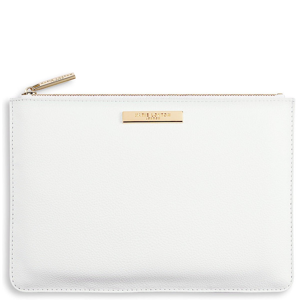 Katie Loxton White Pebble Perfect Pouch