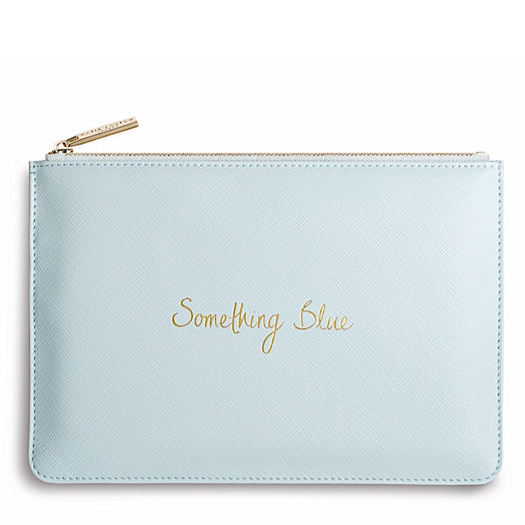 Katie Loxton Something Blue Handwritten Pouch
