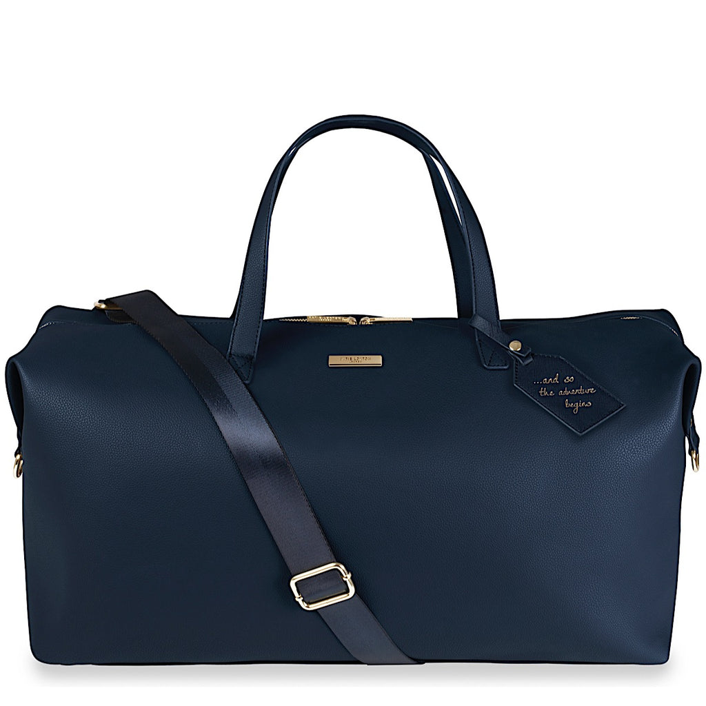 Katie Loxton Adventure Begins Weekend Holdall Bag - navy