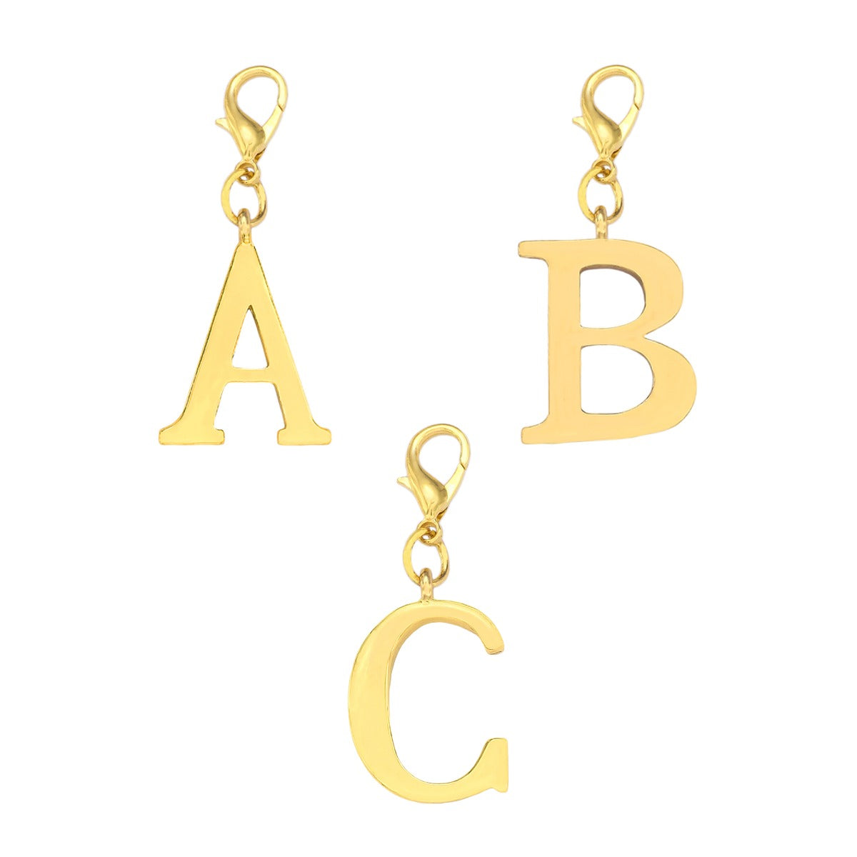 Katie Loxton Gold Letter Charms