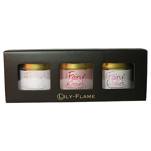 Lily-flame Fairy Mini Tins Set - Narborough Hall