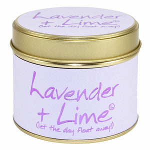 Lily-flame Lavender and Lime Candle - Narborough Hall