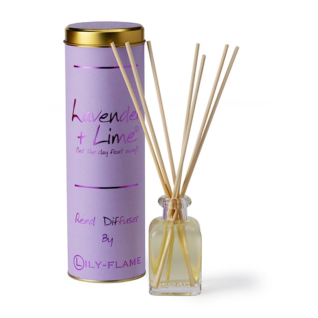 Lily-flame Lavender and Lime Reed Diffuser