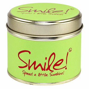 Lily-flame Smile Candle - Narborough Hall
