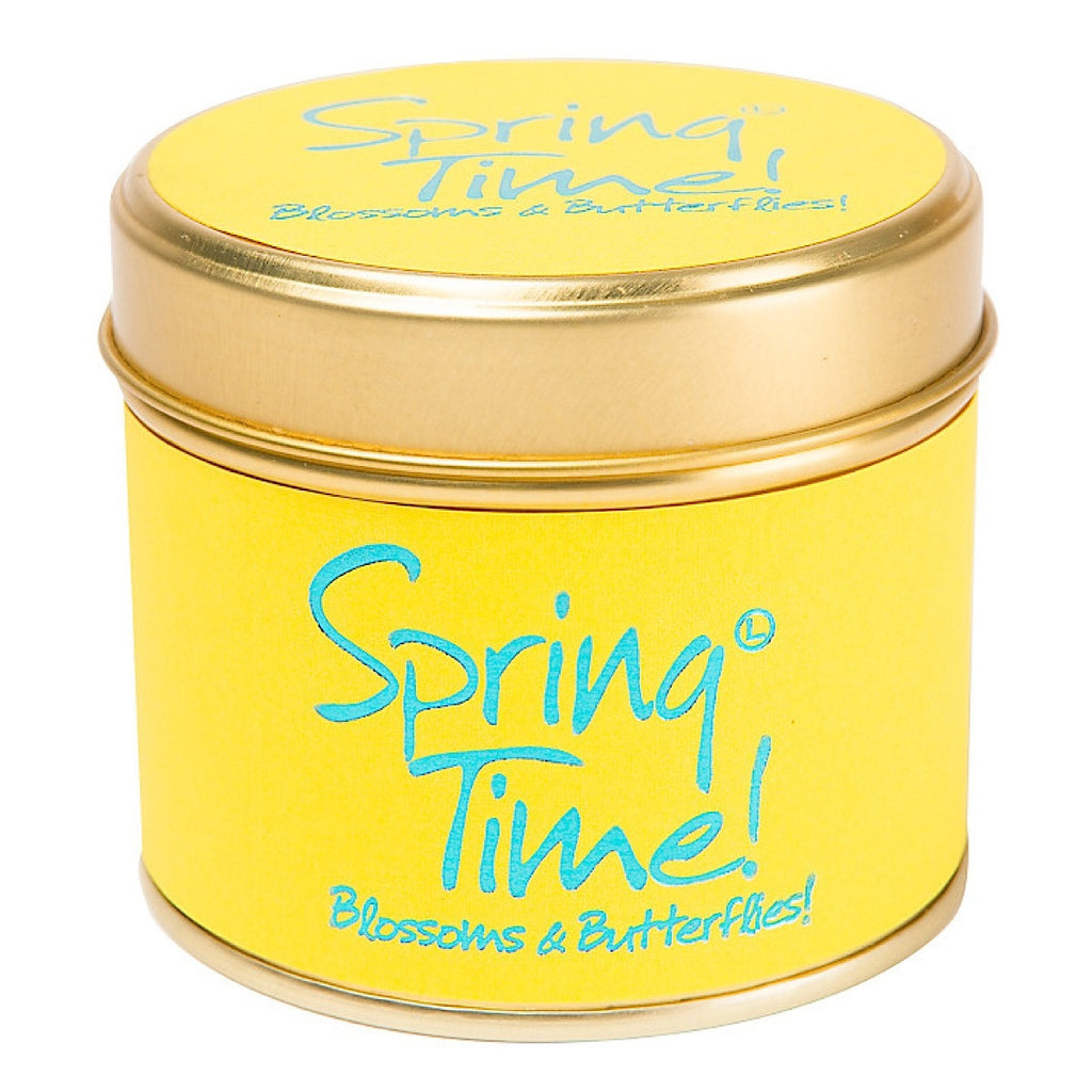 Lily-flame Spring Time Candle - Narborough Hall