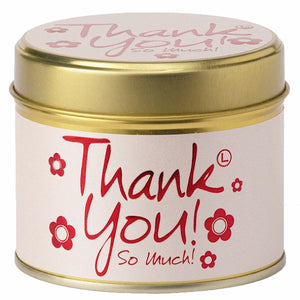 Lily-flame Thank You Candle | More Than Just at Gift | Narborough Hall