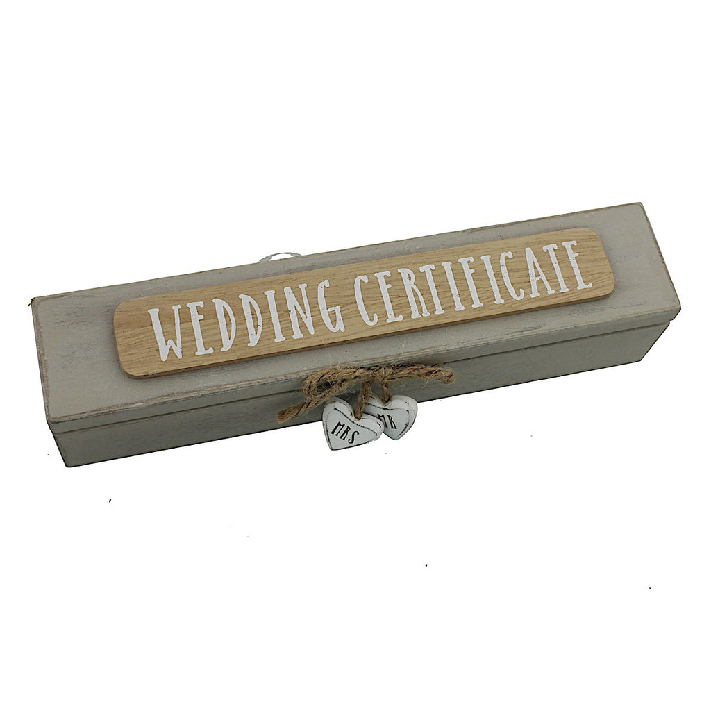 Love Story Wedding Certificate Holder | More Than Just at Gift | Narborough Hall