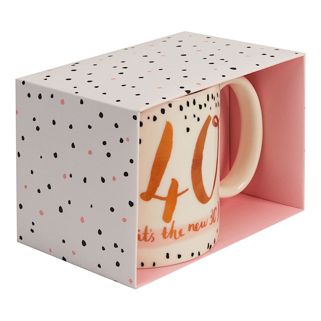 Luxe Ceramic 40 (it's the new 30) Mug