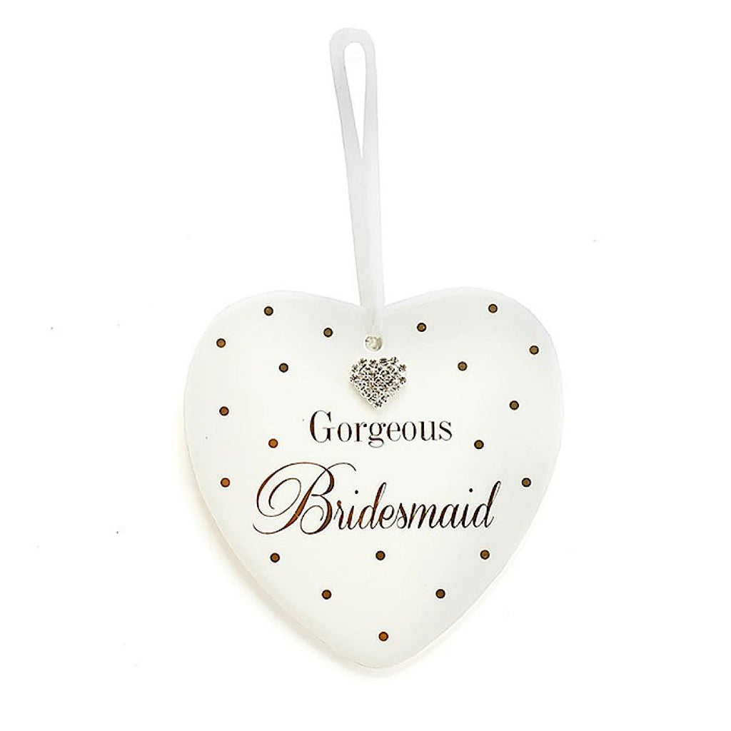 Mad Dots Bridesmaid Heart | More Than Just at Gift | Narborough Hall