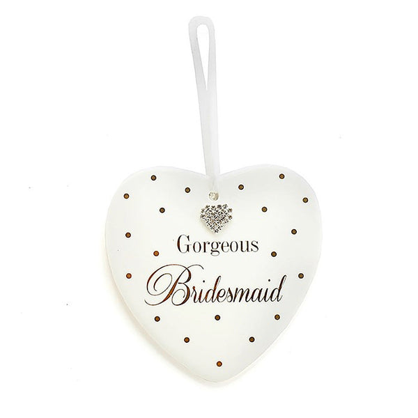 Mad Dots Bridesmaid Heart