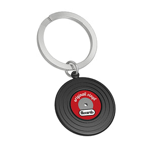 Metalmorphose Black Vinyl Record Keyring