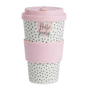 Ophelia eco bamboo cup - Hello Lovely | More Than Just A Gift