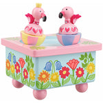 Orange Tree Toys Animal Fairies Flamingo Music Box