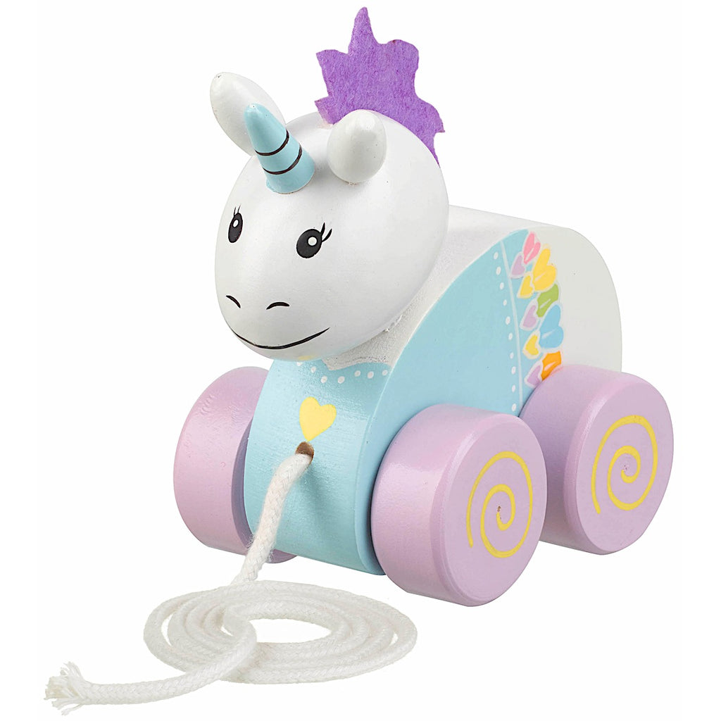 Orange Tree Toys Animal Fairies Unicorn Pull Along