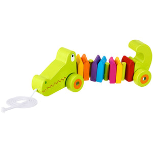 Orange Tree Toys Crocodile Pull Along