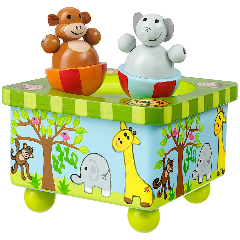 Orange Tree Toys Safari Music Box
